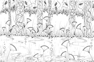 ©Elisa Viotto - Pioggia lungo il fiume
