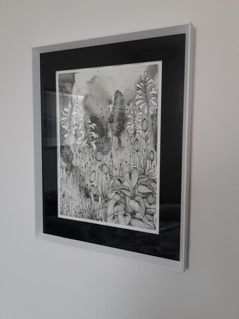 Elisa Viotto_Botanical love_framed