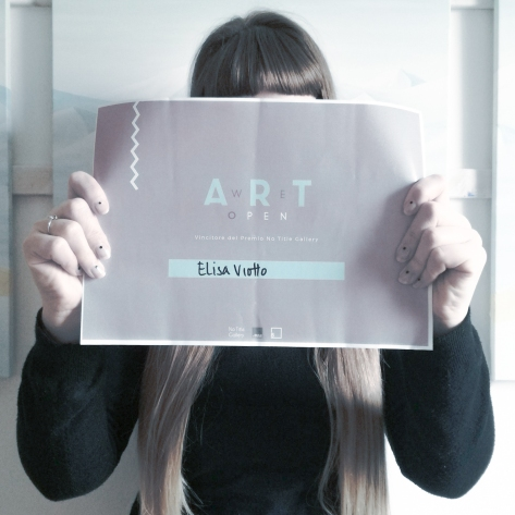 We Art Open Winner Elisa Viotto