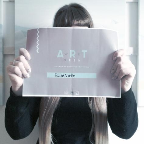 We Art Open Winner Elisa Viotto