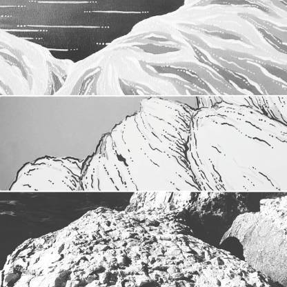studio rocce Foto Schizzo Dipinto
